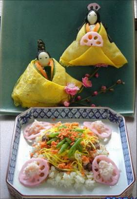 ●「鶏のちらし寿司」